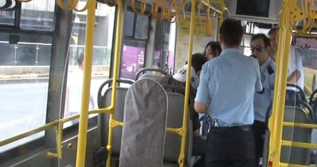 İstanbul'da otobüste silahlı kavga: 1 yaralı