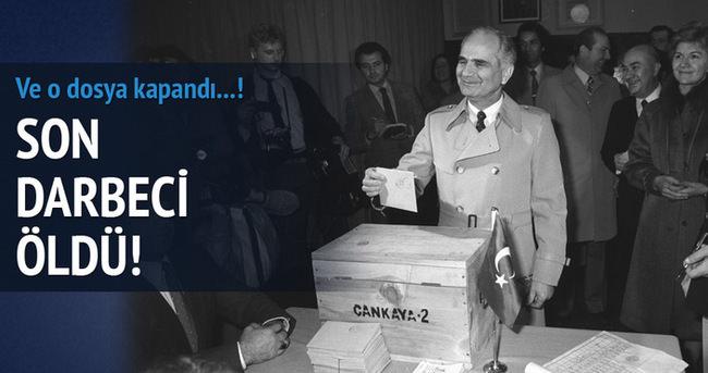 12 Eylül'ün Darbeci Komutanı Tahsin Şahinkaya öldü!