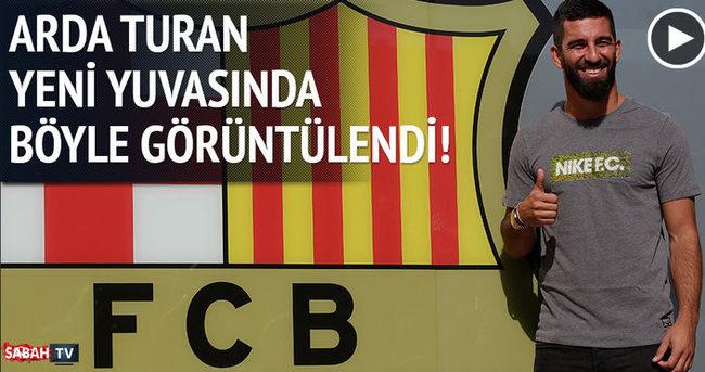 Arda imza için Barcelona'da!