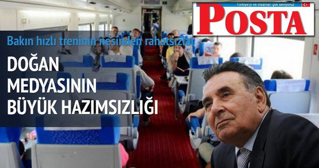 Posta Gazetesi'nin hızlı trende bayan yanı isyanı