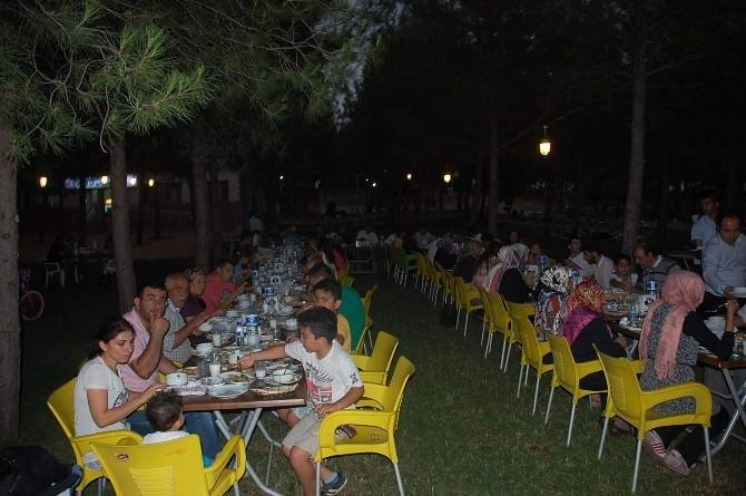 Şehit Aileleri Ve Gaziler, İftar Yemeğinde Buluştu