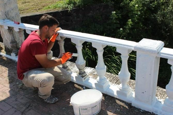 Akçakoca'da Peyzaj Çalışmaları Sürüyor