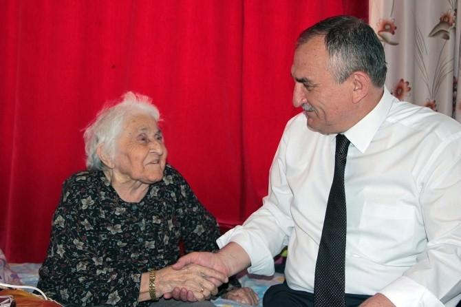 Bolu Belediye Başkanı Alaaddin Yılmaz Hasta Ziyaretlerine Devam Ediyor