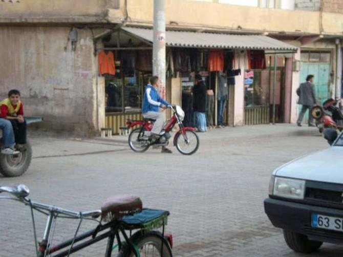 Ceylanpınar'da Motosiklet Çilesi