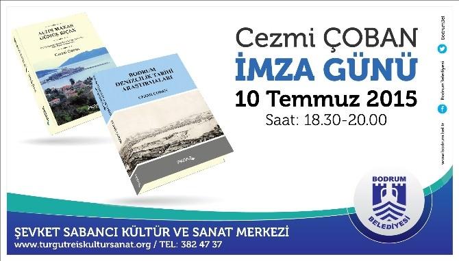 Bodrum Belediyesi Personelinden İki Kitaplı İmza Günü