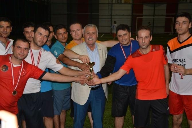 Dörtyol'da Futbol Turnuvasının Şampiyonu Emniyet