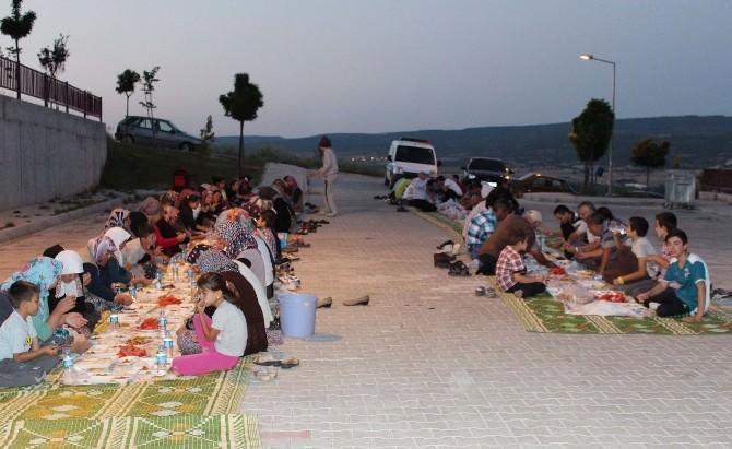 Hisarcık'ta İmece Usulü İftar