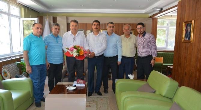 Horozköyspor'dan Başkan Çerçi'ye Ziyaret