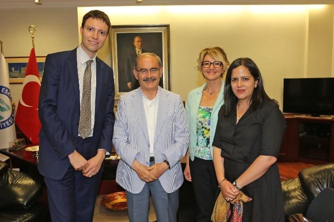 İngiltere Büyükelçiliği'nden Büyükerşen'e Ziyaret