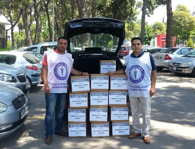 Sağlık Sen'den Ramazan Yardımı