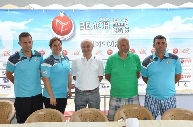 Tvf Pro Beach Tour Sinop 2015 Başlıyor