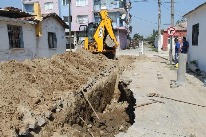 Söke'de ASKİ'nin Kanalizasyon Çalışmasında Göçük: 2 İşçi Yaralandı