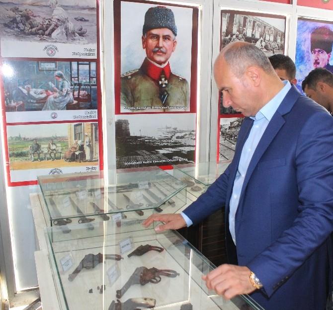 Çanakkale 100. Yıl Gezici Müzesi Tekkeköy'de