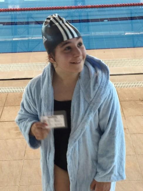 Zonguldak Tenis Deniz Spor Kulübü; İlk Lisanslı Yüzücüsü Irmak'la Yüzme Branşında Da Yarışacak