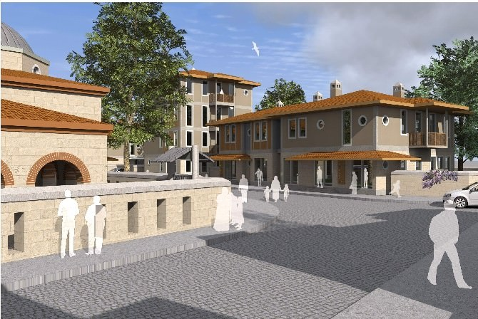 TOKİ, İznik'e Osmanlı Mimarisi'nde Yeni Evler Yapacak...