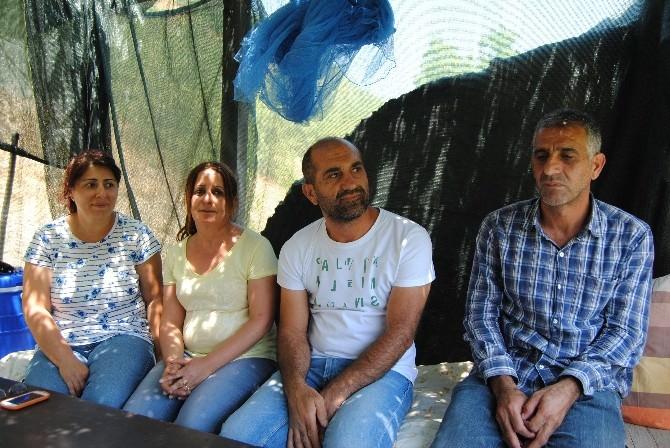 Baraj Mağduru Aile Açlık Grevine Başladı