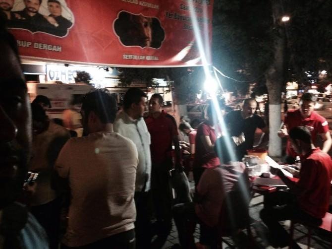 Malatya Ülkü Ocakları Azra Bebek İçin Kan Verdi