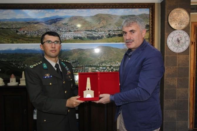Garnizon Komutanı Yiğit'ten Veda Ziyareti