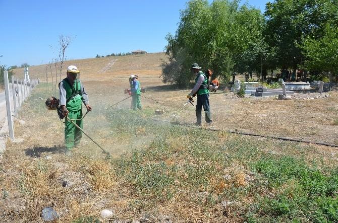 Yeşil Alanlar Ve Parklar Modern Sulama Sistemine Kavuştu