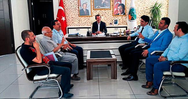 Başkan Altan'dan başkanlara ziyaret