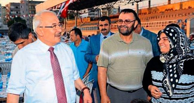 Başkan Kocamaz'ın iftar sofrası Silifke'de