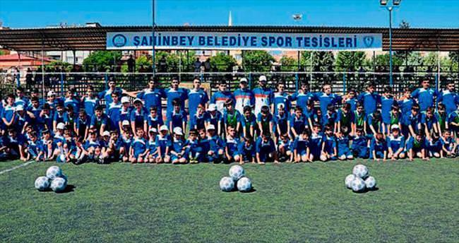 Geleceğin sporcuları Şahinbey'de eğitiliyor