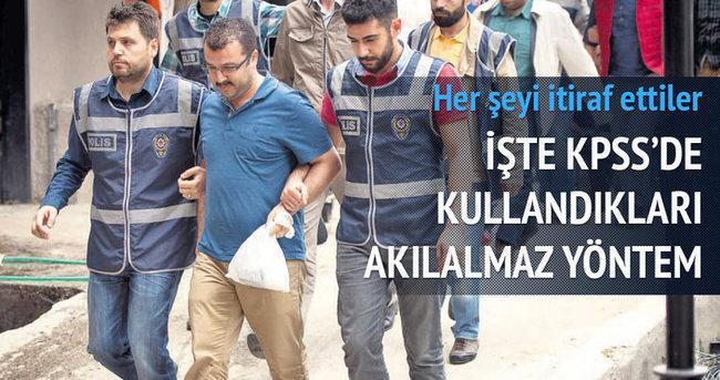 KPSS skandalında Paralel ezber itirafı