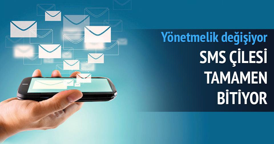 e-posta ve SMS çilesi tamamen bitiyor