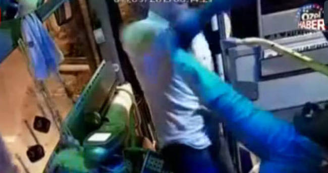 İki kardeş otobüs sürücüsünü dövdü