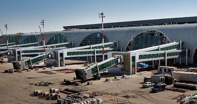 Diyarbakır Havalimanı yeni terminalinde sona doğru