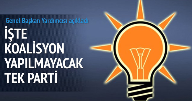 Abdulhamit Gül: HDP ile koalisyon düşüncesi yok