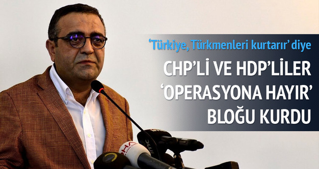 CHP'li ve HDP'li vekiller blok kurdu