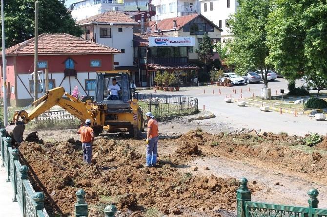 Akçakoca'da Çevre Düzenleme Çalışmaları Sürüyor
