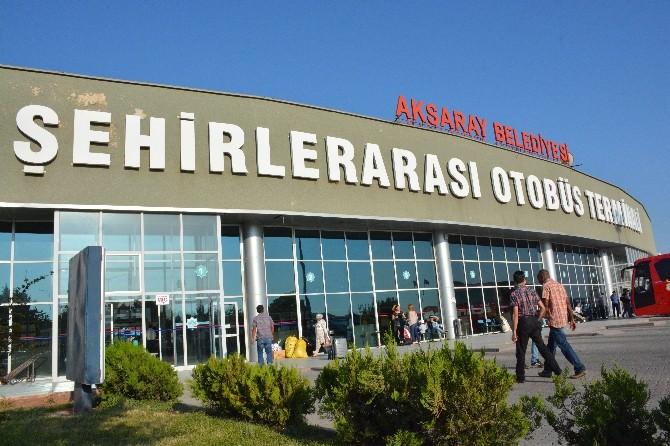 Aksaray Otobüs Terminalinde Bayram Tedbirleri Alınıyor