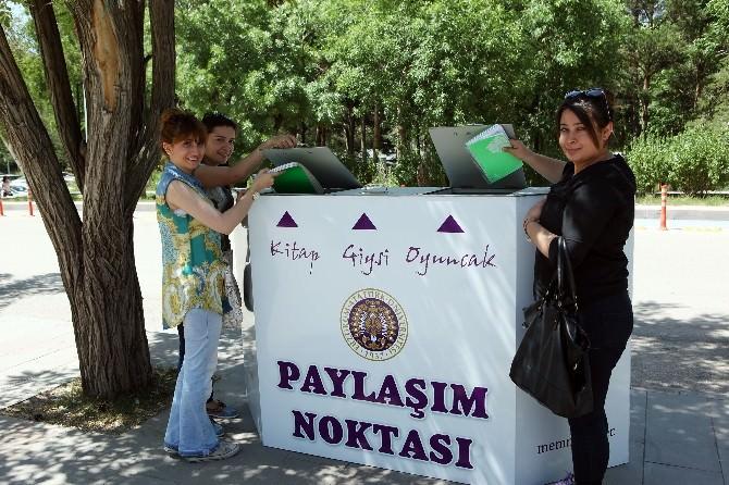 Atatürk Üniversitesi'nde Paylaşım Noktaları Projesi