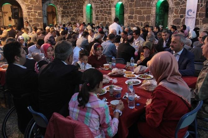 Aziziye Tabyalarında Şehit Yakınları Ve Gazilere İftar Yemeği