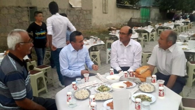 Başkan Tutal, İftarda Vatandaşlarla Buluştu