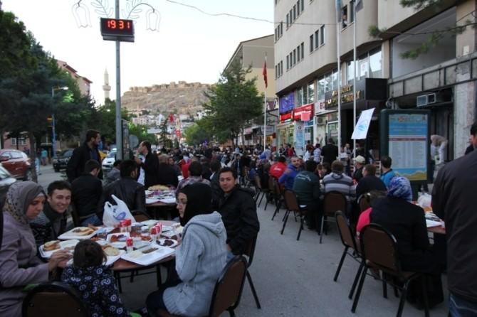 Bayburt'ta Geleneksel Ramazan Sofrası