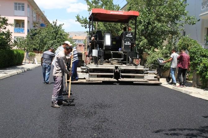 Erzincan Belediyesi'nden Asfalt Çalışmalarına Devam