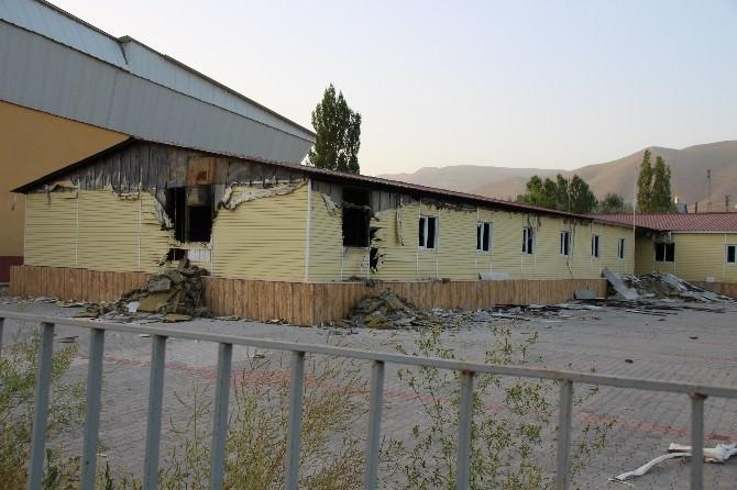 6-7 Ekim Olaylarında Yakılan Lise Binası Onarılacak