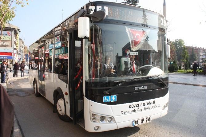 Düzce Belediyesi Otobüs Kartlarına Güncelleme