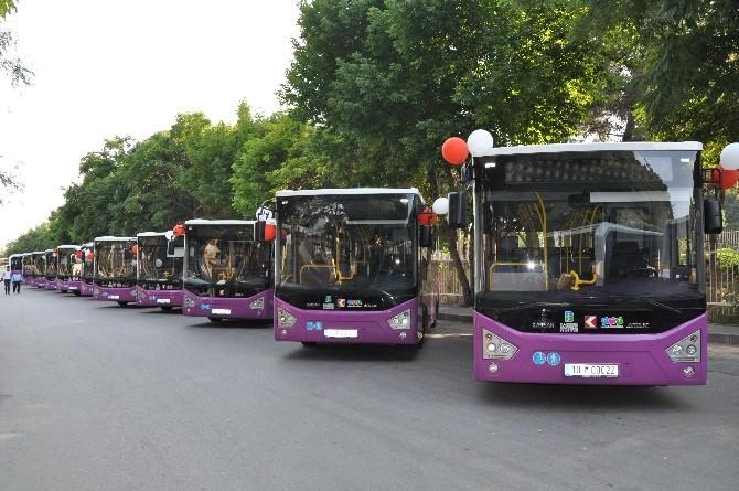 Kampus Hattında 62 Yeni Araç Hizmete Girdi