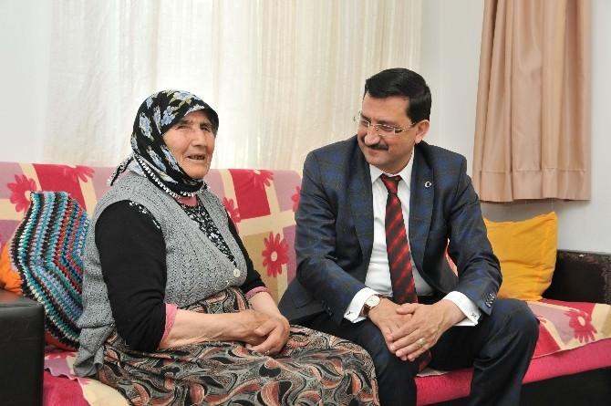 Başkan AK, Ev Ziyaretlerini Sürdürdü