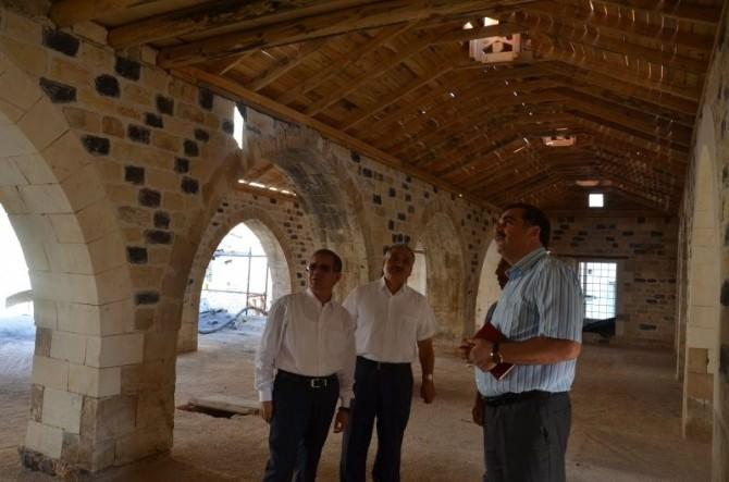 Vali Süleyman Tapsız, Restorasyon Çalışmalarını Yerinde İnceledi