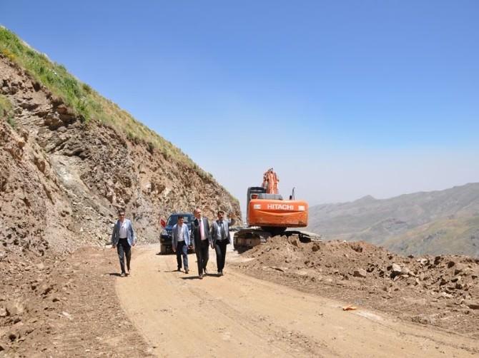 Muş'ta Köy Yoları Denetleniyor