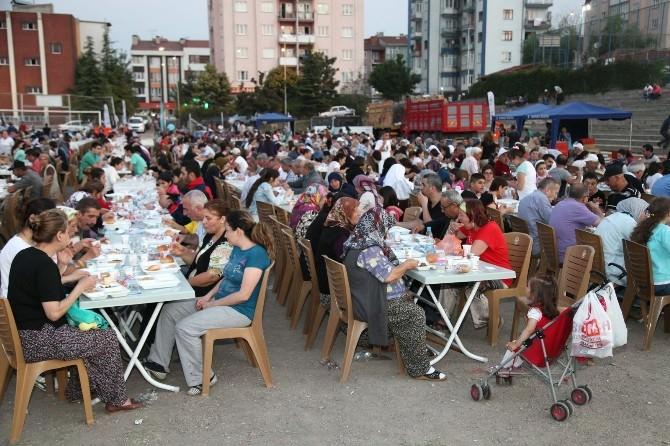 Büyükdere'de Ramazan Coşkusu