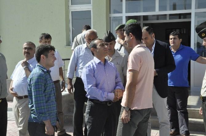 Garnizon Komutanı Mehmet Oyanık Seydişehir'e Veda Etti