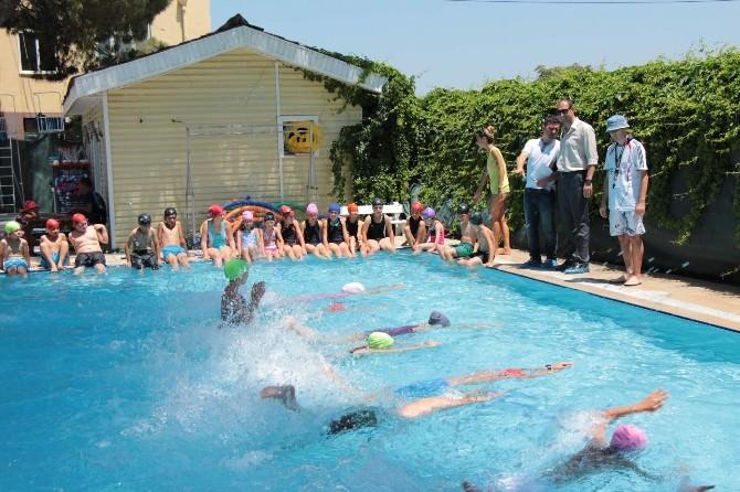 Yaz Spor Okulları İle Yerinde Eğitim Veriliyor