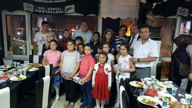 Beşiktaşlı Taraftarlardan Lösemili Çocuklara İftar