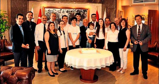 İstek Yeditepe'de TEOG başarısı için kutlama